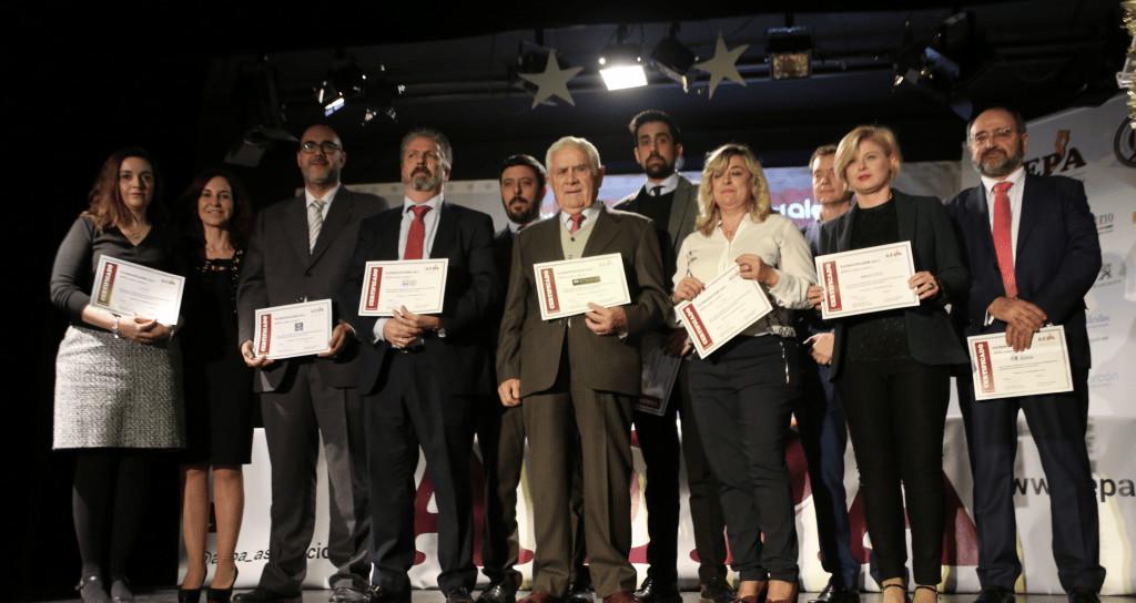 AEPA reconoce el arte y la cultura de Alcorcón en sus VII Premios Empresariales