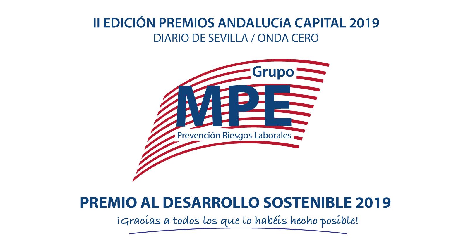 Grupo MPE Premio al Desarrollo Sostenible
