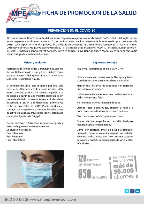 Fichas Promoción de la Salud